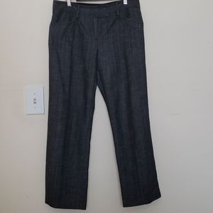 J. Crew Stretch Charcoal Grey Cropped Trousers